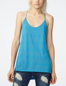 ARMANI EXCHANGE Mesh High-Low Cami Tank top D f