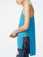 ARMANI EXCHANGE Mesh High-Low Cami Tank top Woman d