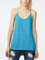 ARMANI EXCHANGE Mesh High-Low Cami Tank top Woman f