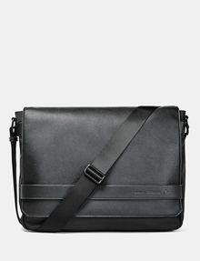 Armani Exchange Pebbled Messenger Bag Man F