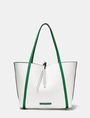 ARMANI EXCHANGE Reversible Pop Color Tote Shopper Woman d