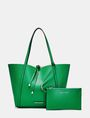 ARMANI EXCHANGE Reversible Pop Color Tote Shopper D f