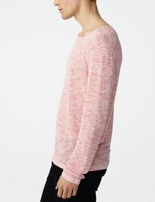 ARMANI EXCHANGE Wide-Neck Burnout Tee Sweatshirt U d