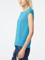 ARMANI EXCHANGE Mesh Boatneck Top Shell D d
