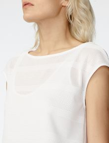 ARMANI EXCHANGE Mesh Boatneck Top Shell [*** pickupInStoreShipping_info ***] e