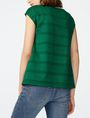 ARMANI EXCHANGE Mesh Boatneck Top Shell Woman r