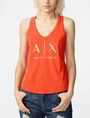 ARMANI EXCHANGE Classic A|X Racerback Tank top Woman f