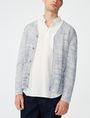 ARMANI EXCHANGE Variegated Stripe Cardigan Cardigan U f