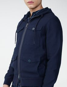 ARMANI EXCHANGE Full-Zip Utility Jacket Zip-up U e
