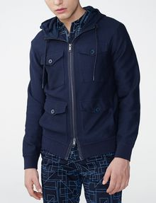 ARMANI EXCHANGE Full-Zip Utility Jacket Zip-up Man f