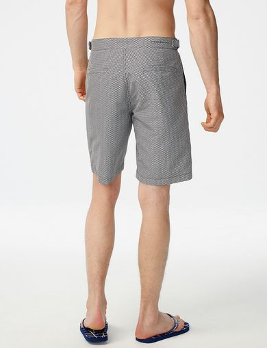 ARMANI EXCHANGE Side-Cinch Swim Trunk Man retro