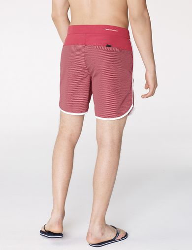 ARMANI EXCHANGE Tonal Microprint Swim Short Man retro