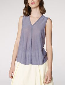 ARMANI EXCHANGE Seamed V-Neck Tank Tank top [*** pickupInStoreShipping_info ***] f