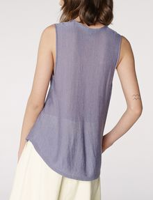 ARMANI EXCHANGE Seamed V-Neck Tank Tank top [*** pickupInStoreShipping_info ***] r