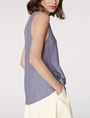 ARMANI EXCHANGE Seamed V-Neck Tank Tank top [*** pickupInStoreShipping_info ***] d