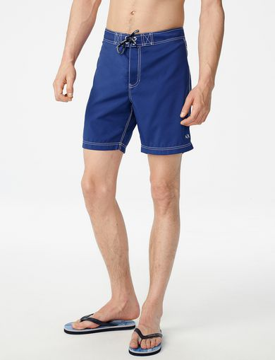 ARMANI EXCHANGE Double-Stitch Swim Trunk Man front