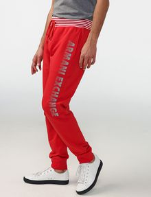 ARMANI EXCHANGE Striped Logo Sweats Jogger Man d