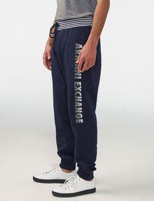 ARMANI EXCHANGE Striped Logo Sweats Jogger Man d