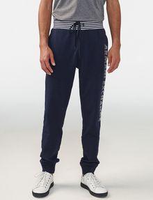 ARMANI EXCHANGE Striped Logo Sweats Jogger Man f