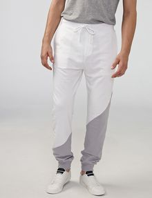ARMANI EXCHANGE Diagonal Colorblock Logo Pants Jogger U f