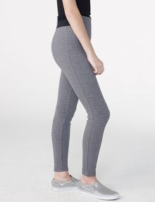 ARMANI EXCHANGE Ribbed Trim Legging Skinny pant D d