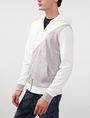 ARMANI EXCHANGE Short-Sleeve Stripe Henley Zip-up U d