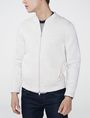 ARMANI EXCHANGE Raglan Sleeve Bomber Jacket Zip-up U f