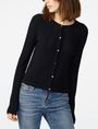 ARMANI EXCHANGE Multi-Stitch Open-Knit Cardigan Cardigan D f