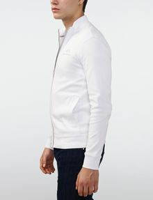ARMANI EXCHANGE Signature Piping Mockneck Jacket Zip-up Man d