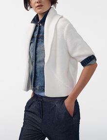 ARMANI EXCHANGE Draped Shawl-Collar Sweater Cardigan D d