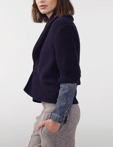 ARMANI EXCHANGE Draped Shawl-Collar Sweater Cardigan D d