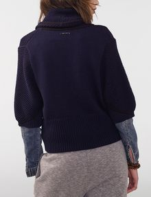 ARMANI EXCHANGE Draped Shawl-Collar Sweater Cardigan D r
