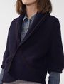 ARMANI EXCHANGE Draped Shawl-Collar Sweater Cardigan Woman e