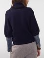 ARMANI EXCHANGE Draped Shawl-Collar Sweater Cardigan Woman r