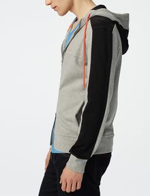 ARMANI EXCHANGE Colorblock Zip-Up Hoodie Zip-up Man d