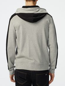 ARMANI EXCHANGE Colorblock Zip-Up Hoodie Zip-up U r