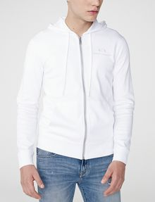 ARMANI EXCHANGE A|X Signature Track Jacket Hoodie Zip-up Man f