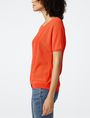 ARMANI EXCHANGE Short-Sleeve Open-Knit Sweater Crew Neck Woman d