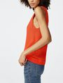 ARMANI EXCHANGE Open-Knit Tank Crew Neck Woman d