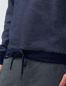 ARMANI EXCHANGE Drawcord Hem Sweatshirt Pullover U e