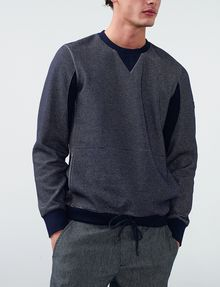 ARMANI EXCHANGE Drawcord Hem Sweatshirt Pullover Man f