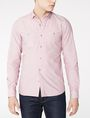 ARMANI EXCHANGE Long-Sleeve End-on-End Shirt Long sleeve shirt U f