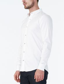 ARMANI EXCHANGE Snap-Front Stretch Slim-Fit Shirt Long sleeve shirt Man d