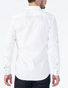ARMANI EXCHANGE Snap-Front Stretch Slim-Fit Shirt Long sleeve shirt Man r