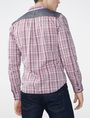 ARMANI EXCHANGE Contrast Pocket Plaid Shirt Long sleeve shirt Man r