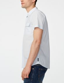 ARMANI EXCHANGE Short-Sleeve Microcheck Shirt Short sleeve shirt U d