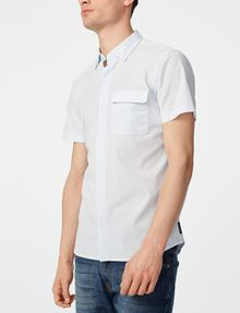 ARMANI EXCHANGE Short-Sleeve Microcheck Shirt Short sleeve shirt U f