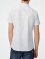 ARMANI EXCHANGE Short-Sleeve Microcheck Shirt Short sleeve shirt U r