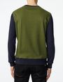 ARMANI EXCHANGE Colorblock Crewneck Sweatshirt Crew Neck U r