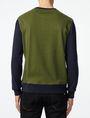 ARMANI EXCHANGE Colorblock Crewneck Sweatshirt Crew Neck Man r